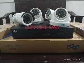 CCTV paket 4 kamera Langsung jadi