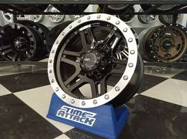 Velg mobil racing hsr ring 15 model ofroad