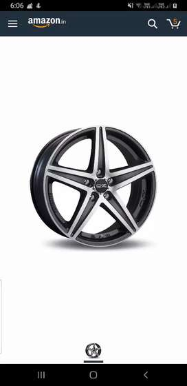 Alloy wheels tip top condition