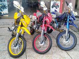 Box Packed 125cc Mini Trail Bike & Atv Quad With New Features