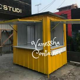 CONTAINER CAFE ANGKRINGAN / BOOTH SEMI CONTAINER / CONTAINER USAHA
