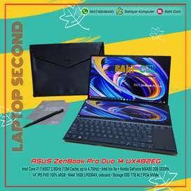 ASUS ZENBOOK PRO DOU UX482EG I7 1165G7 MX450 16GB 1TB