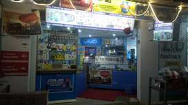 Mobile shop with all interior and with services instrument