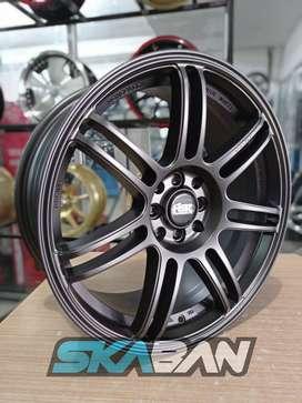 jual hsr wheel ring 18x8 h8(114,3/100) utk mobil yaris,livina,xenia
