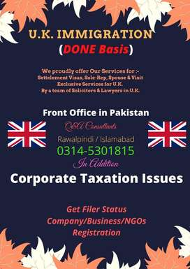 UK Immigration - Corporate - Tax Consultants