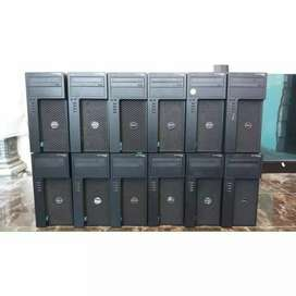 PC SERVER Dell Precission T1700 Intek Xeon 3.30 Ghz RAM 8GB HDD 500GB