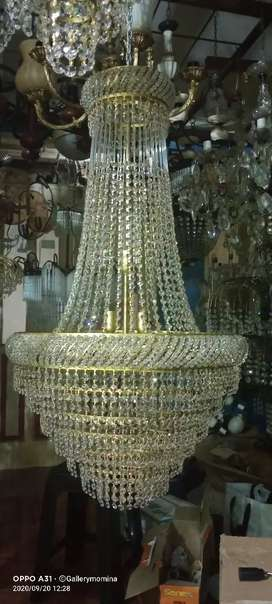 Lampu gantung kristal tawon diamter 60