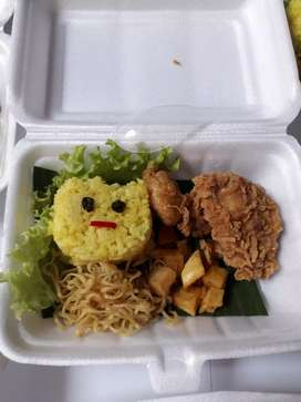 Nasi bento utk acara ultah anak