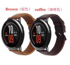 STRAP GENUINE LEATHER XIAOMI AMAZFIT PACE & PACE 2