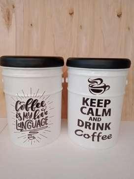 Kursi Tong Kekinian Cafe dan Teras - Ready Stock Putih Tema Kopi