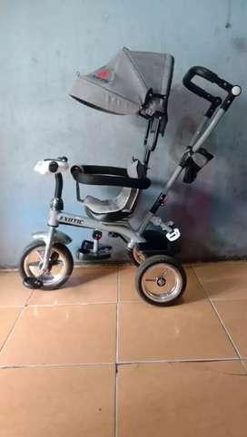 Sepeda bayi roda tiga exotic 1259