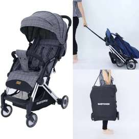 Stroller lipat kecil(cabin size)babydoes drifter,