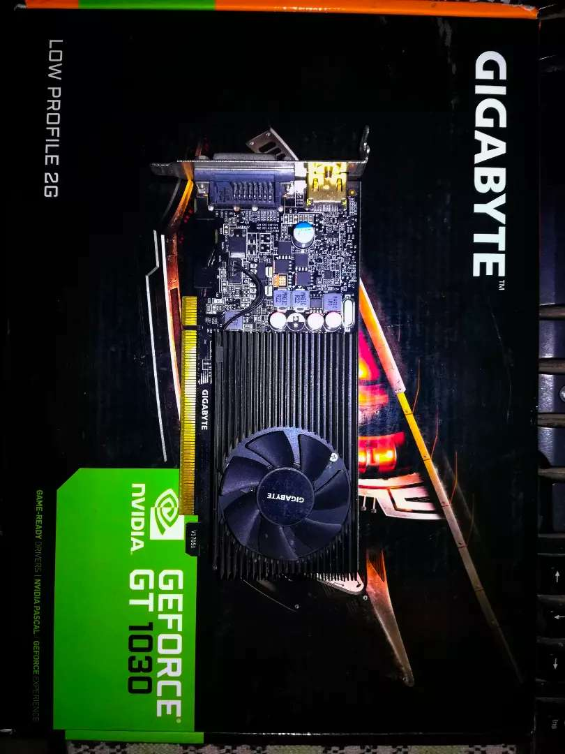 GTX 1030 DDR5 2GB GAMEING GRAPHIC CARD IN VERY GOOD CONDITION 0