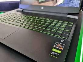 HP Pavilion Gaming 15 EC0002AX RYZEN 7 3750H GTX1650 4GB Garansi ON