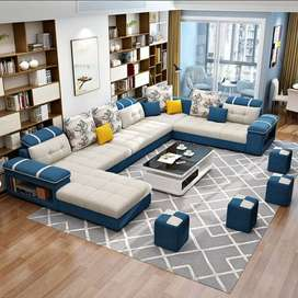 New sofa set  C shaped direct from factory at factory prices