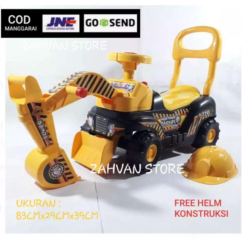 Mainan mobil excavator / ZAHVAN STORE 0