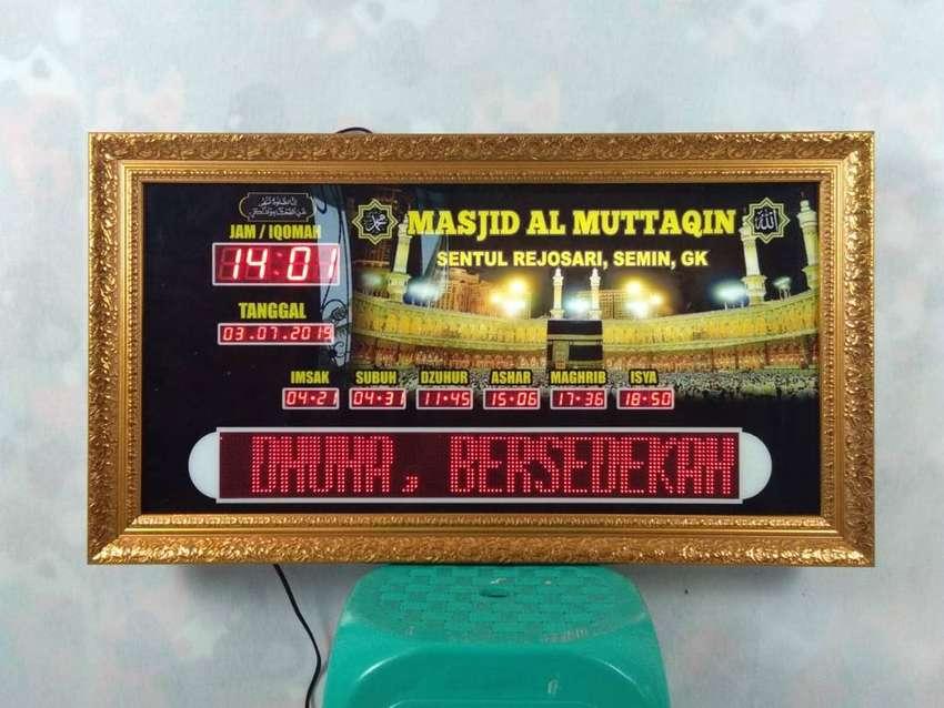 Sedia Jam Masjid Berdigital Spesial Kirim Masjid Purbalingga 0