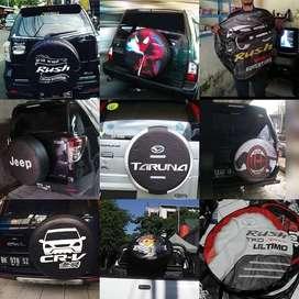 Cover Ban Serep Mobil Pajero-Ecosport dLL BISA RUSH/terios/ESCUDO Bagu