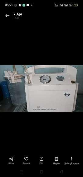 Suction pump alat sedot dahak pasien