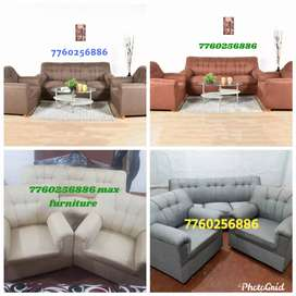 Only 6999 new luxury fabric sofa set with warranty