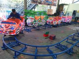 kereta panggung usaha mainan komedi safari kantai mini coaster