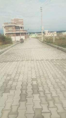 Shimla by pass road Raghunathpur me two side road plot 13000/gaj