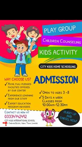 Due to  covid i start Home Schooling for Play Group students