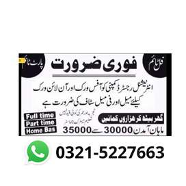 Online Job available