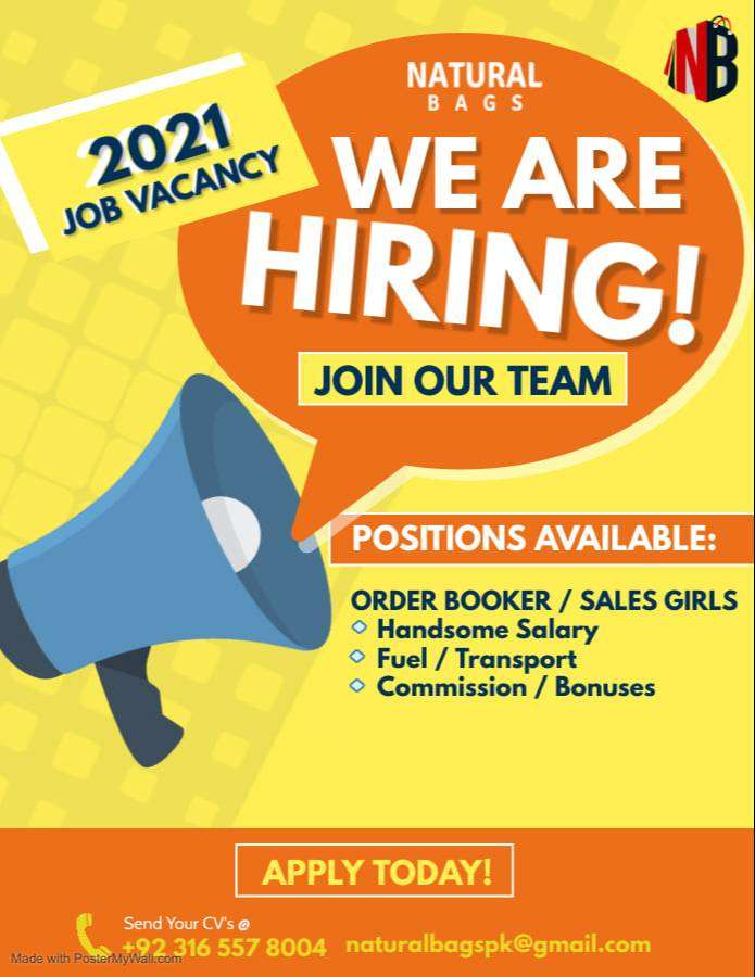 Order Bookers / Sales Girls