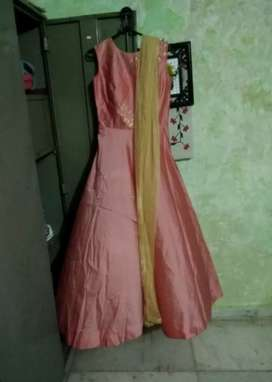 Anarkali Gown with Dupatta