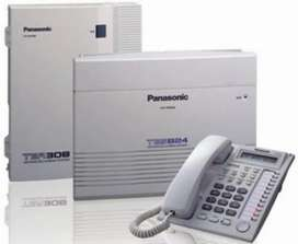 Panasonic telephone exchange intercom kx-308