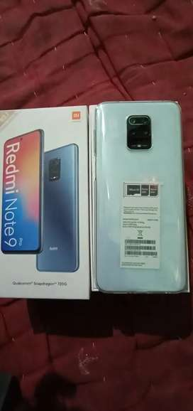 Mi note 9pro 6gb ram 128gb internal price 16000 only 10days used