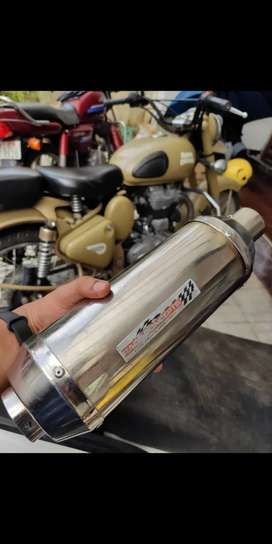 Race concept exhaust / silencer /diffuser