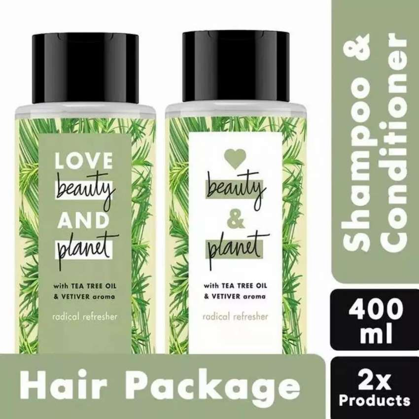 Shampoo dan conditioner love beauty and planet 200 ml 0