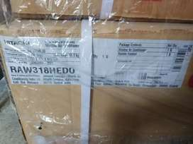 BRAND NEW BOX PACK HITTACHI 1.5 TON 3 STAR WINDOW AC ONLY RS 22500