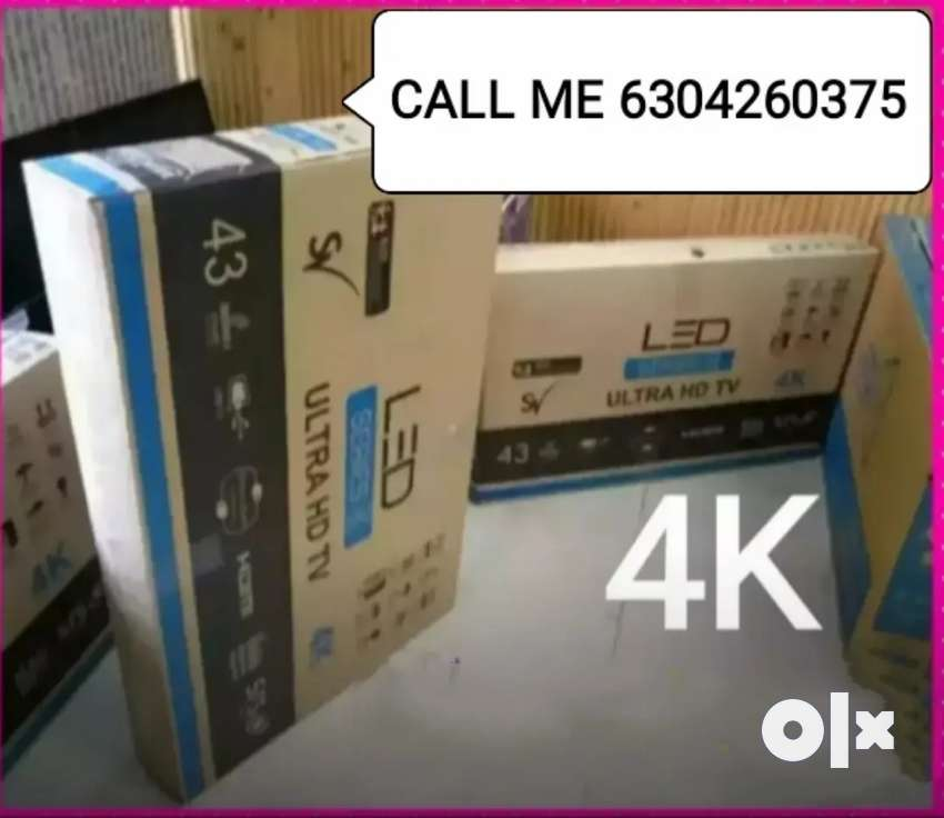 43*SMART4K ANDROID LED TV FULL HD * SEAL PACK *3YEARS WARRANTY *