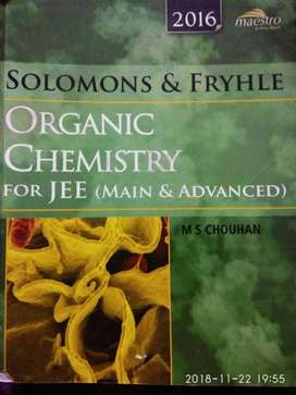 Solomons and Fryle Organic Chemistry for JEE(Main