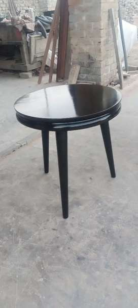 Round table with Round Glass(8 mm)