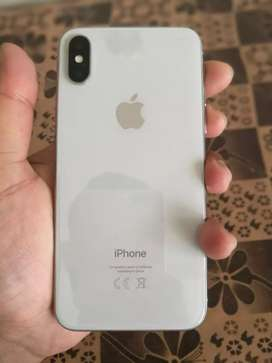 Iphone X White 64GB complete box