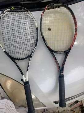 Tennis recquet.