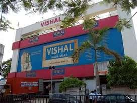 Hiring for Vishal Mega Mart  (8th/10th/12th/graduate)
