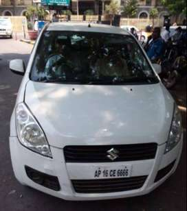 MARUTI RITZ ZXI BSIV  SUPERIOR WHITE with Fancy Number