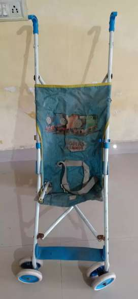 Baby trolley foldable