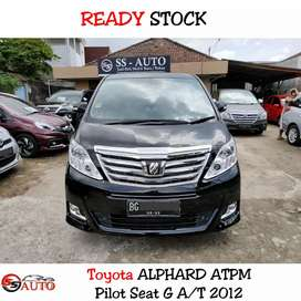 Toyota ALPHARD 2.4 G AT Pilot Seat Odo20rb SuperAntik Istimewa
