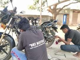 Bike mechanic require in nayapalli location