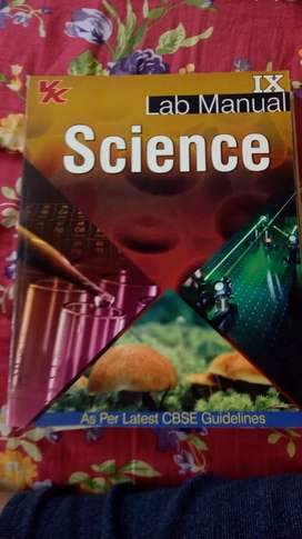 Science lab manual