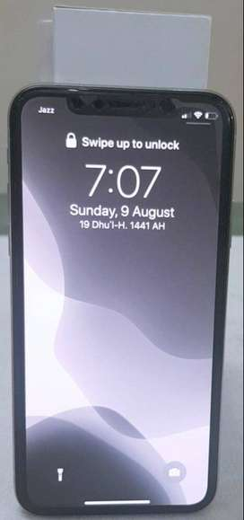 iPhone X, Silver, 256GB PTA Approved Excellent Condition