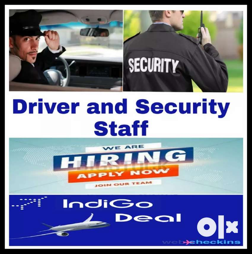Required in indiGo Airlines Drivers. 0