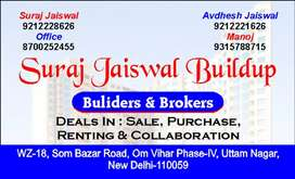 Fully furnished at 28.5 lacs with 90% bank loan in Uttam nagar