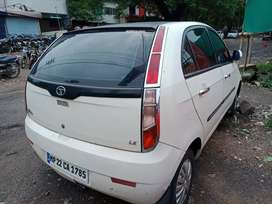 Tata Indica Vista 2013 model white colour second owner